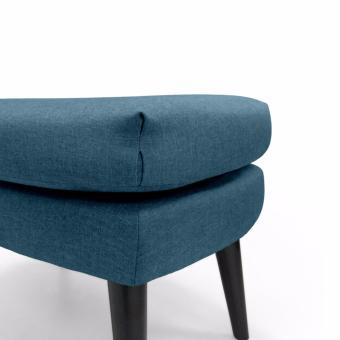 Baker Ottoman (Blue) - 4