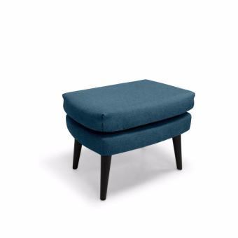 Baker Ottoman (Blue) - 3