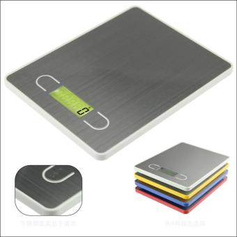 Harga Stainless Steel Electronic Scales Kitchen Scales Weight Scale Food Baking Scales - intl