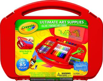 Harga Crayola Ultimate Art Supplies Portable Art Studio