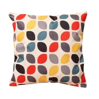 Cotton Linen Throw Pillow Case Cushion Cover Geometry Nature Home Decor 05