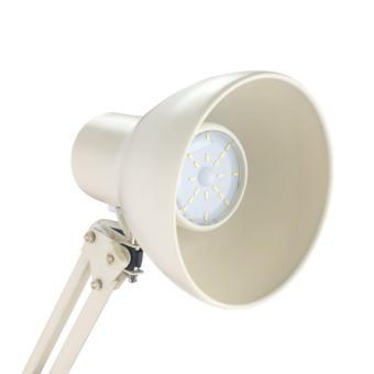 ToJane® LED Long Swing Arm Floor Lamp Metal Art Lamp Long Swing Arm Lamp, Amer-Style Lamp Studio/Bedroom Lamp White - 2
