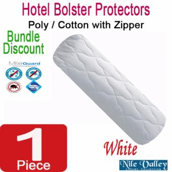 Harga Nile Valley Hotel Bolster Protector with mite guard. Sleep safely.