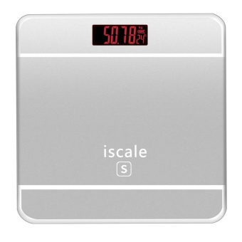 Harga Precision Electronic Weighing Scales Digital Balance Bathroom Scales Weight Scale LCD Screen - intl