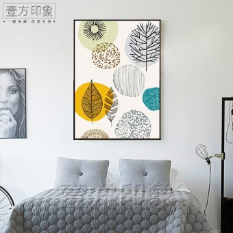 Harga Bedroom modern minimalist restaurant nordic abstract painting decorative painting the living room entrance wall painting paintings oil painting art painting company