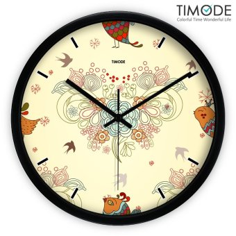 Harga Timode living room Art Living room watch wall clock
