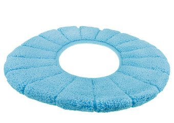 Turquoise Toilet Seat Cover. Preview Toilet Seat Cover Winter Warm Soft Lid Tank  Mat Bathroom Warmer Washable Cloth Pads Blue For Sale