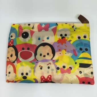 Harga Folderable Recycle & Reusable Bag - Tsum Tsum