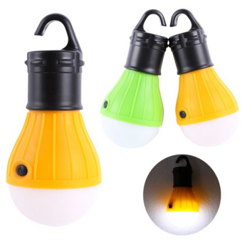 Portable Hanging LED Camping Tent Light Bulb Fishing Lantern Lamp Torch (Green)