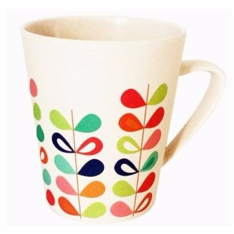 Harga Bambusa Rainbow Mug 400ml (set of 2)