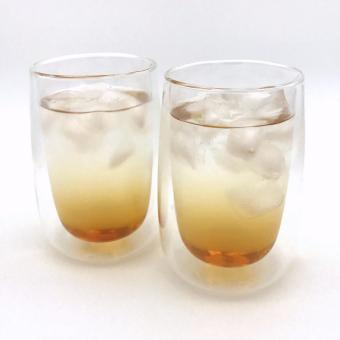 Harga Artless Goods Double Wall Glass 400ml L (Set of 2)