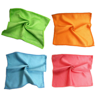 Harga 10 Pieces Kitchen Cleaning Cloth - Random Colors