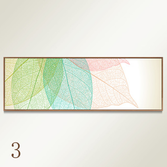 Harga Abstract leaves rooms bedside modern minimalist living room decorative painting mural sofa background wall paintings framed