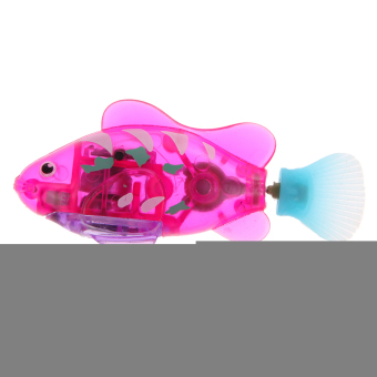 Harga Activated Charger Powered Robo Fish Toy 7#