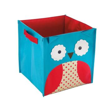 Harga Save Space Kids Toy Storage Box Owl cartoon Storage box - intl