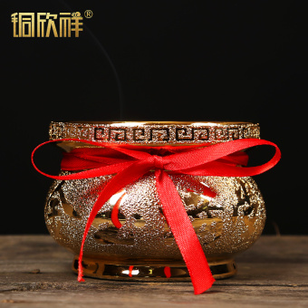 Ceramic fortune feast is worshipped buddha worship buddha incense burner incense burner incense burner buddhism supplies