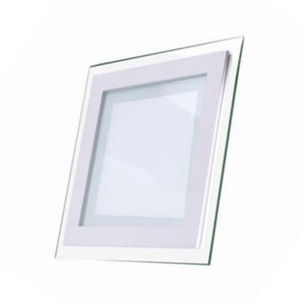 Harga LUMIDEN LED DOWN LIGHT SQUARE GLASS SURROUND LMDLSG100-6W-WW