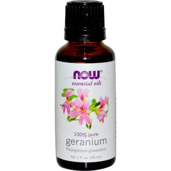 Harga Now Foods, Essential Oils, Geranium, 1 fl oz (30 ml)
