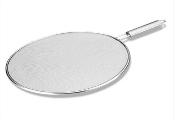 Bella cuisine Stainless Steel Preventing Oil from splashing Frying Pan Net Cover