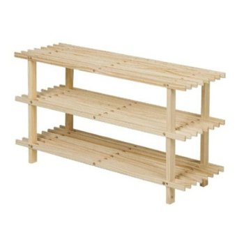 Harga Funika Furniture 33003SBE 3 Tier Shoe Rack