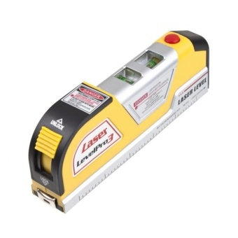 Harga YBC Lines Laser Level Horizontal Vertical Line Measure Measuring Tape - intl