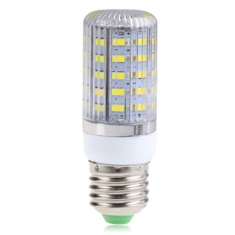 Harga E27 10W 48SMD 5730 5630 Light Corn Lamp Bulb Cool White AC220V