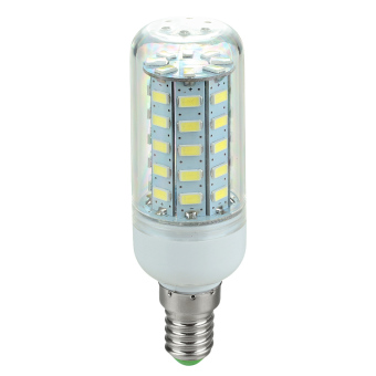 Harga E14 3.5W 600lm 6500K 48-SMD 5730 LED Cool White Light Corn Lamp (220V~240V)