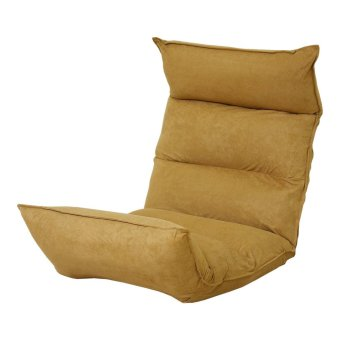 Harga FS0207 Foldable Floor Chair (Coffee)