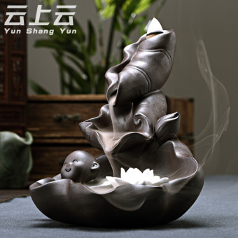 Harga Cloud on the cloud back incense censer incense stove playful incense home Snnei incense sandalwood purple Ornaments
