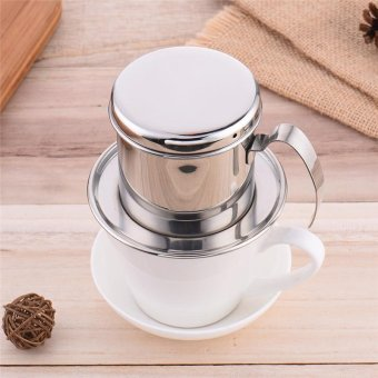 Harga High quality Stainless Steel Coffee tea kettle Maker Drip Coffee Make Coffee Filter Percolators cup - intl