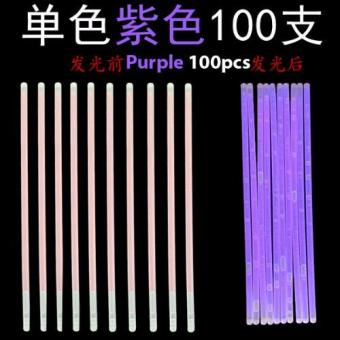 Harga Glow Light Stick - Purple 100pcs