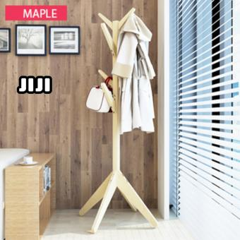 Harga JIJI Standing Coat/ Clothes & Hat Rack: Wooden Pasture Quality Clothes Rack