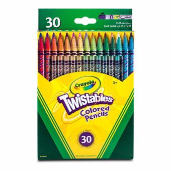 Harga Crayola Twistables 30-Coloured Pencils