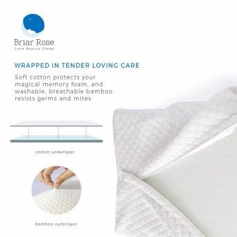 BRIAR ROSE Premium Orthopaedic Contoured Neck Pain Memory Foam Pillow - 4