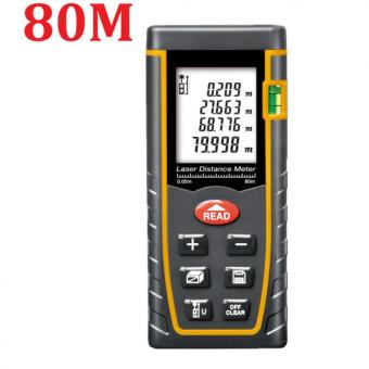 80M Laser Distance Meter Rangefinder Range Finder Build Measure Device Test Tool - intl