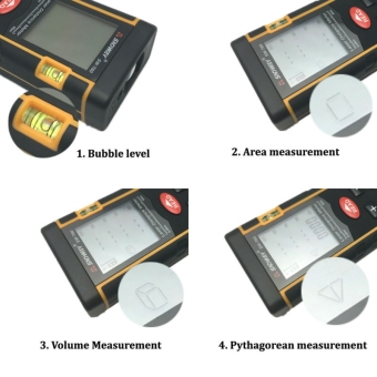 80M Laser Distance Meter Rangefinder Range Finder Build Measure Device Test Tool - intl - 5