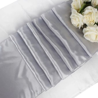 4PCS of 30*275cm Table Runner for Wedding Decoration DIY - intl