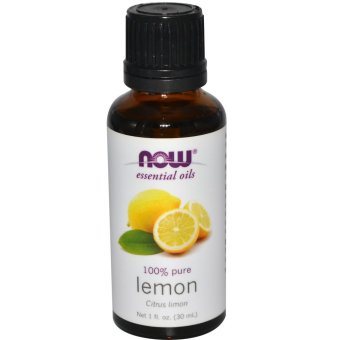 Harga Now Foods, Essential Oils, Lemon, 1 fl oz (30 ml)