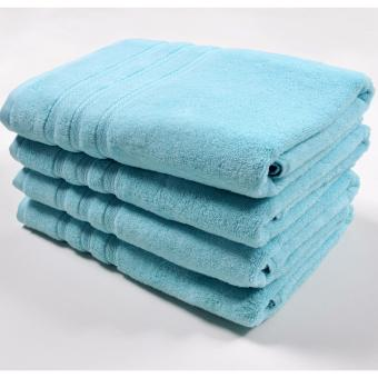 Harga Canopy Airlight Bath Towel Blue Glow (4PCS) 70x140cm