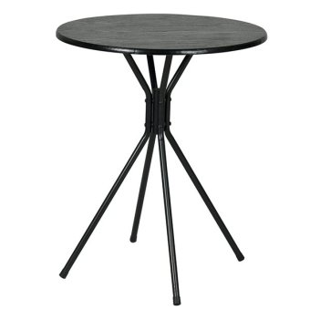 Harga Funika Furniture 22135 BK Round Table (Black)