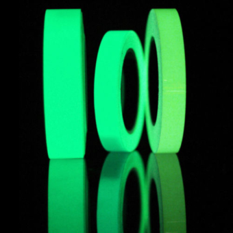 Harga 3pcs 1M Luminous Tape Self-adhesive Glow In Dark - intl