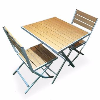 Harga BFG Furniture Foldable Table and Chairs