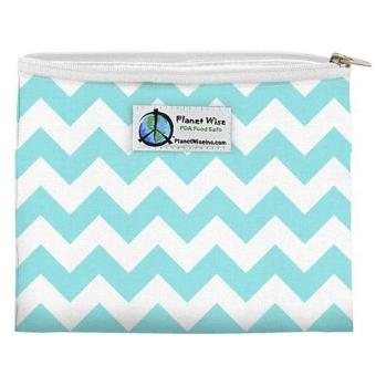 Harga Planet Wise Snack Bag - Teal Chevron