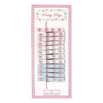 Harga GreenGate Pegs Wooden Simone Pale Pink 12 Pieces