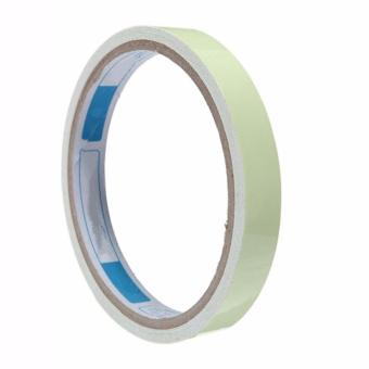 Harga Fancyqube 10mm*3m Luminous Tape Self-adhesive Warning Tape Night Vision Glow In Dark Safety Security Home Decoration Luminous Tapes - intl