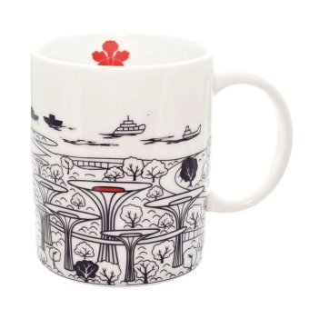 Harga Luzerne Garden by the Bay Singapore Mug [SG]