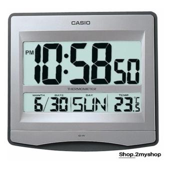 Harga CASIO WALL CLOCK THERMOMETER & CALENDER ID-14S-8D