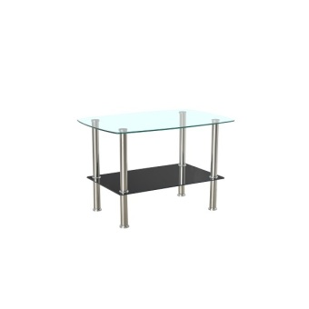 Harga Rectangular Glass Coffee Table