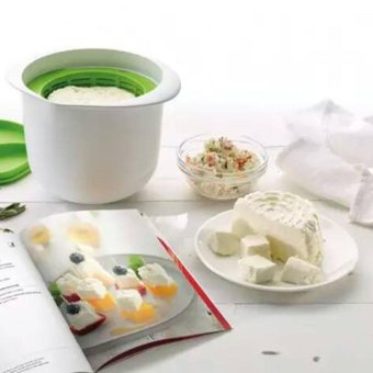 Harga Beau Cheese Maker Microwave Plastic Healthy For Making Cheese Contains Home Use Green & White - intl