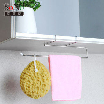 Harga The north and the south to 304 stainless steel kitchen bathroom towel rack hanger hook free nail punch free